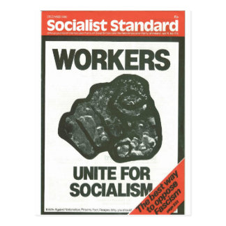 Socialist Standard December 1980 Postcard