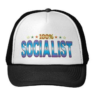 Socialist Star Tag v2 Mesh Hats