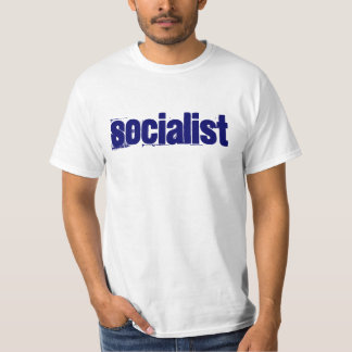 Socialist with a capital Obama T-Shirt
