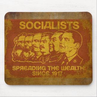 Socialists Propaganda Mousepad
