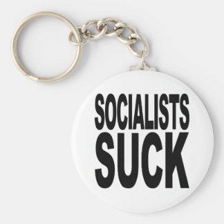 Socialists Suck Key Chain
