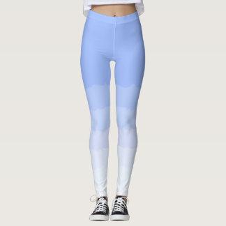 Socialite Blue Ombre Pattern Leggings