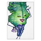 Socialite Kale, Blank Card