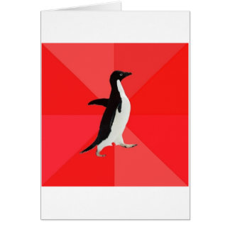 Socially Awesome Penguin Advice Animal Meme Card