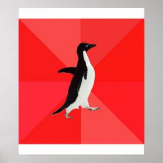 Socially Awesome Penguin Advice Animal Meme Poster