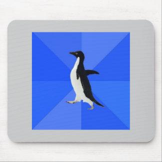Socially Awkward Penguin Advice Animal Meme Mouse Pad
