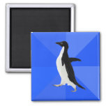 "Socially Awkward Penguin (""Customise"" to add text) Refrigerator Magnet"