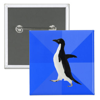 Socially Awkward Penguin Customize to add text Buttons