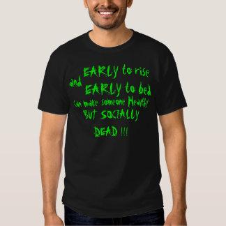 Socially Dead T-shirts