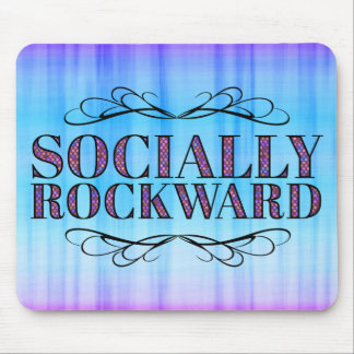 Socially Rockward Mouse Mat
