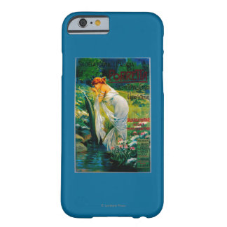 Societa Termale Italiana Vintage PosterEurope Barely There iPhone 6 Case