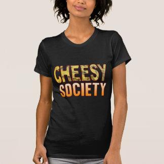 Society Blue Cheesy T-shirt