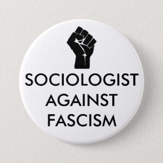 Sociologist against Fascism 7.5 Cm Round Badge