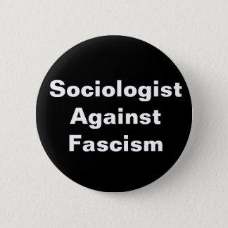 Sociologist Against Fascism (no image) 6 Cm Round Badge