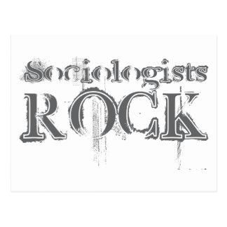 Sociologists Rock Postcard