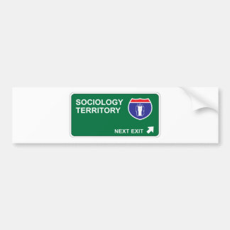 Sociology Next Exit Bumper Sticker