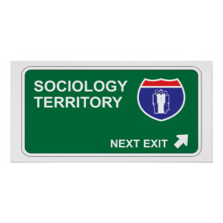 Sociology Next Exit Poster