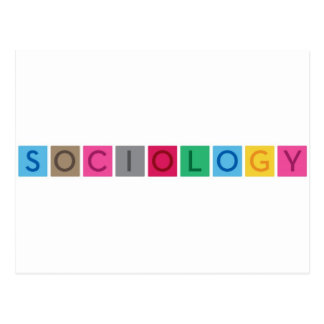 Sociology Postcard