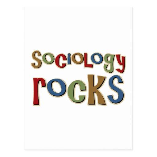 Sociology Rocks Post Cards