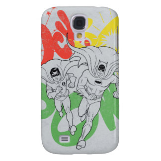 SOCK BAM POW Batman and Robin Galaxy S4 Case