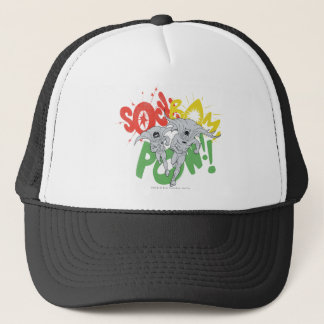 SOCK BAM POW Batman and Robin Trucker Hat