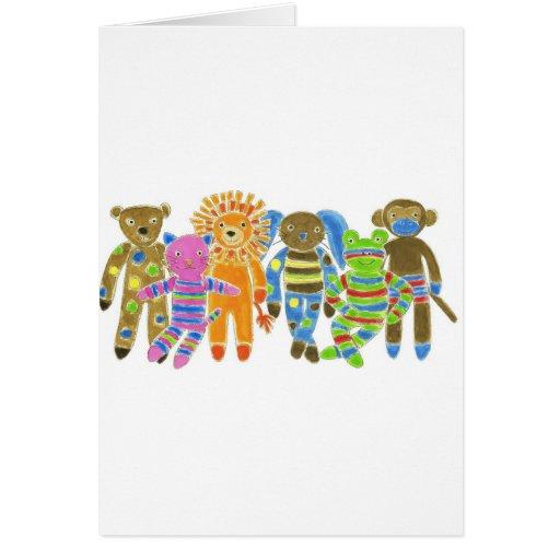 Sock Critters Card