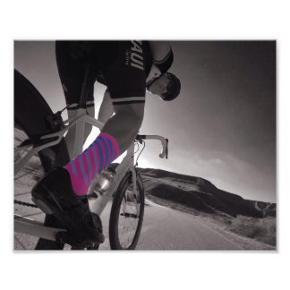 Sock doping photo print