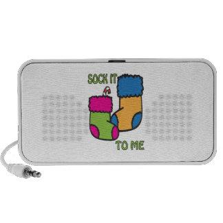 Sock It To Me Notebook Speakers