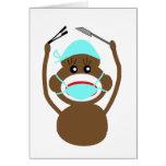 Sock Money General Surgery---Adorable Card