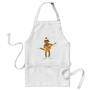 Sock Monkey Acoustic Guitar Standard Apron