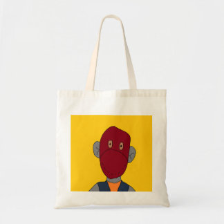 Sock Monkey Canvas Bags