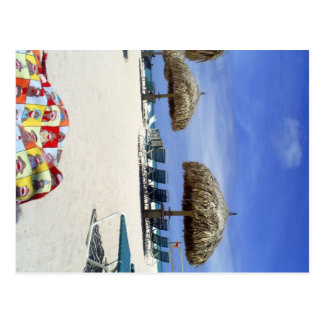Sock Monkey Bag in Aruba at Eagle Beach Postcard