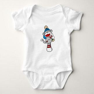 Sock Monkey Baseball At Bat Tshirts and Gifts
