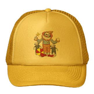 Sock Monkey Clown Cap