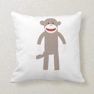Sock Monkey Cushion