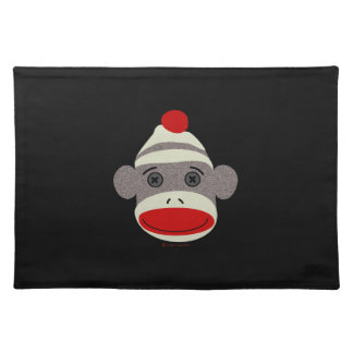 Sock Monkey Face Placemat