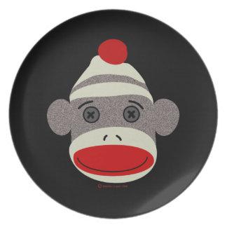 Sock Monkey Face Plate
