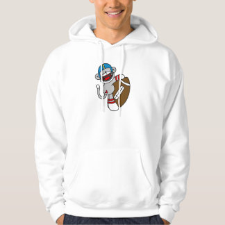 Sock Monkey Football T shirts and Gifts