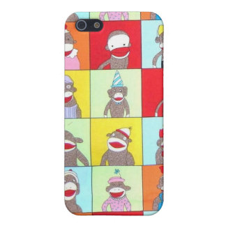 Sock Monkey Friends Cover For iPhone 5/5S