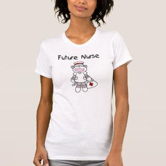 Sock Monkey Future Nurse T-shirts and Gifts