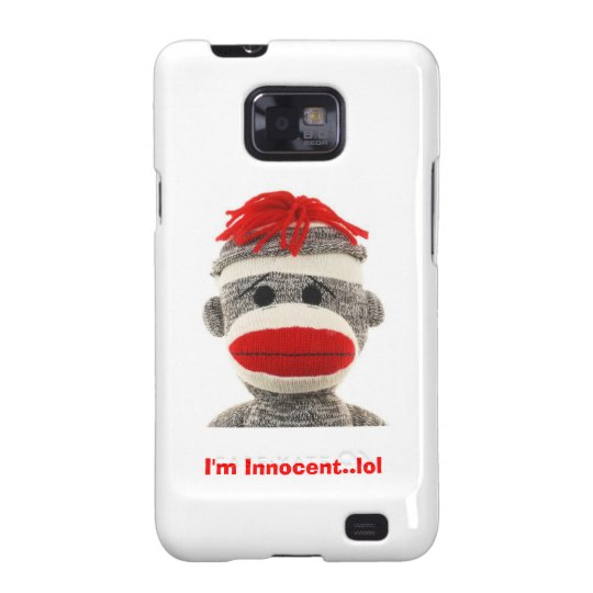 Sock Monkey Galaxy Phone case