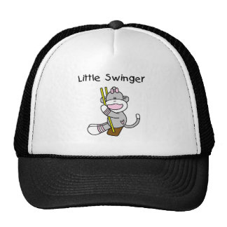 Sock Monkey Girl Little Swinger Cap