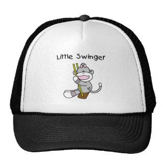 Sock Monkey Girl Little Swinger Trucker Hat