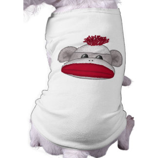 Sock Monkey Head Shirt