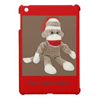 sock monkey ipad mini case