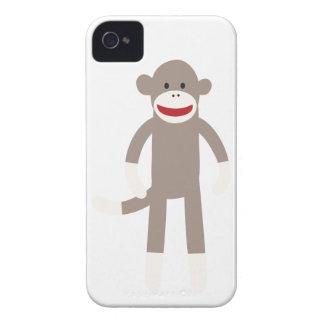 Sock Monkey iPhone 4 Cases