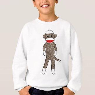 Sock Monkey Kids Sweatshirt