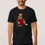 Sock Monkey Love Heart T-shirts