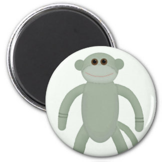Sock Monkey Magnet