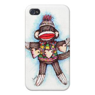 Sock Monkey - Monkey Business iPhone 4/4S Covers